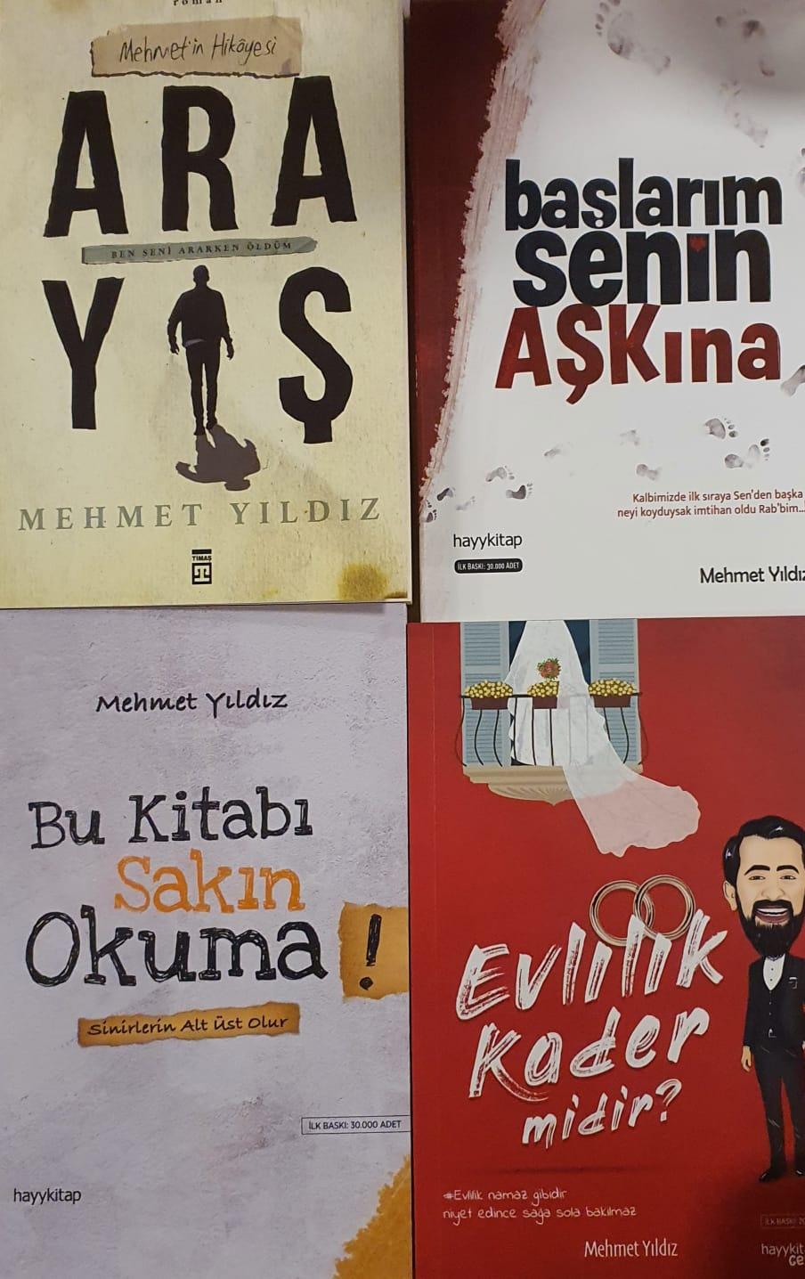 Mehmet Yildiz 4 Kitap Seti